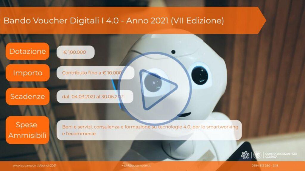 Bando Cosenza Voucher Digitali I4.0 – Anno 2021